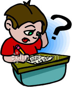 A_Confused_Boy_Taking_a_Test_Royalty_Free_Clipart_Picture_081205-164540-318018